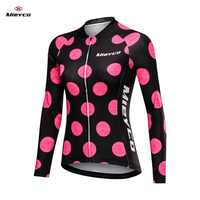 Mieyco Long Sleeve Jersey Women Bike Shirt Reflective Cycling Jersey Breathable Cycling Shirt MTB Jersey Maillot Ciclismo