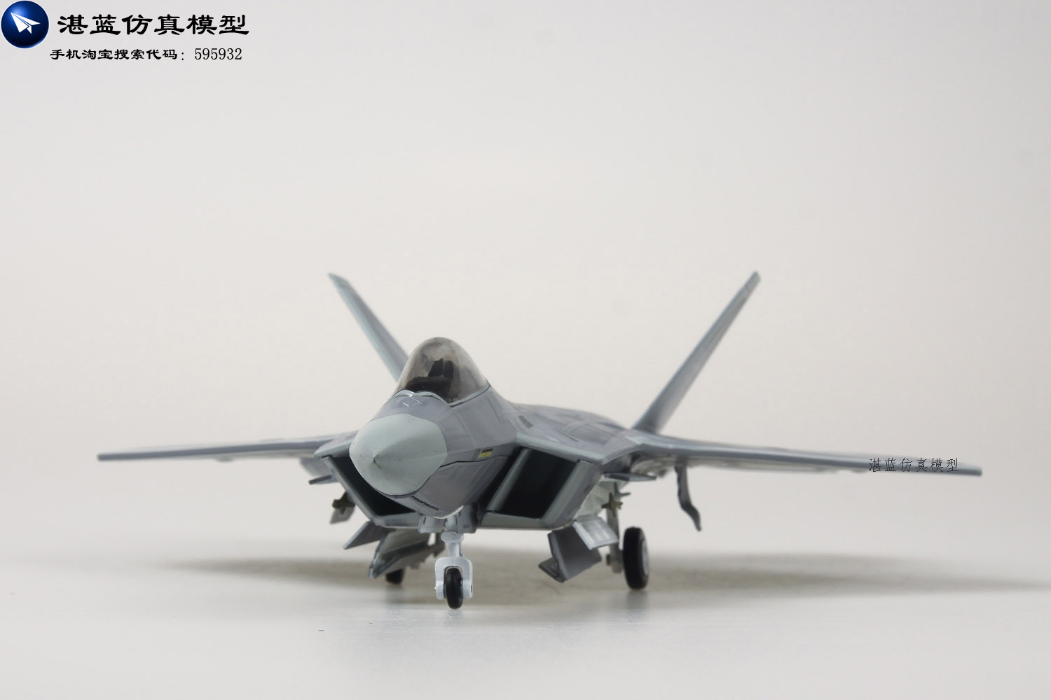 Brand New 1/72 Scale Airplane Model Toys USAF F-22 Raptor Fighter Diecast Metal Plane Model Toy For Gift/Collection/Decoration