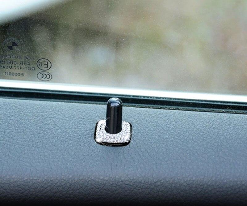 4 дана Автокөліктерге арналған сәндеу BMW автомобильдерінің есіктеріне арналған безендіруге арналған хрусталь жапсырма BMW 3 сериялы BMW 5 сериялы автомобиль аксессуарлары үшін ішкі безендіру