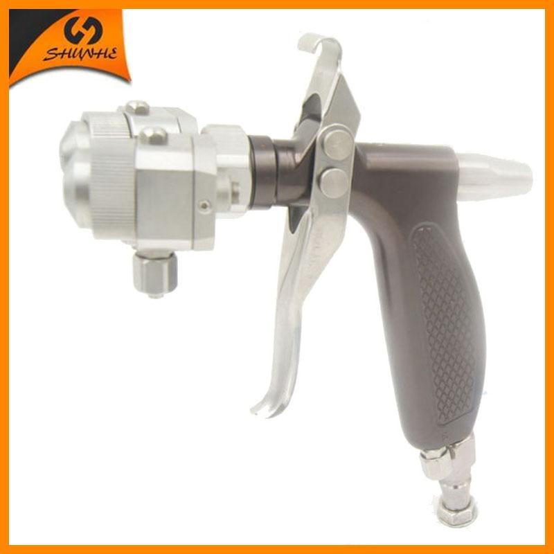 SAT1204 sienų dažymo mašinos baldų purškimo pistoleto įrankis mini putų purškiklis