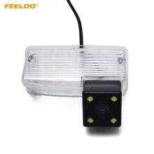 FEELDO 1 pz Auto Videocamera vista posteriore con la luce del LED Per Toyota Corolla E120/E130/Reiz (10 ~ 12) /Vios (03 ~ 08) Inversione di Parcheggio Della Macchina Fotografica