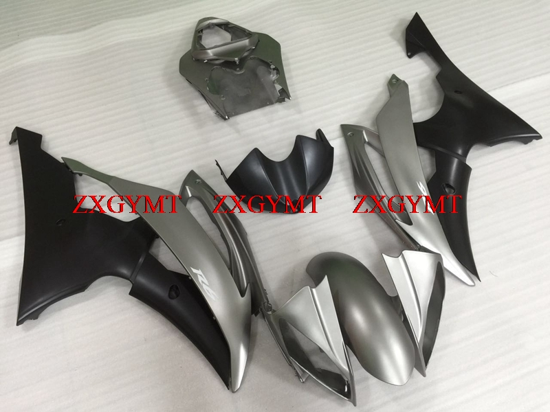 Bodywork for YZFR6 2008 - 2015 Bodywork YZFR6 2011 Silver grey Matter Black Fairing Kits YZFR6 2009Bodywork for YZFR6 2008 - 2015 Bodywork YZFR6 2011 Silver grey Matter Black Fairing Kits YZFR6 2009