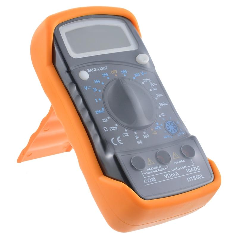 Image 3 - Urijk Portable Digital Multimeter Backlight AC/DC Ammeter Voltmeter Ohm Tester Meter XL830L Handheld LCD Multimetr-in Multimeters from Tools