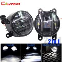 Cawanerl 2 X Автомобильный светодиодный источник света Противотуманные фары дневного света для Lincoln Dacia honda, Peugeot Jaguar Lincoln Porsche Scion