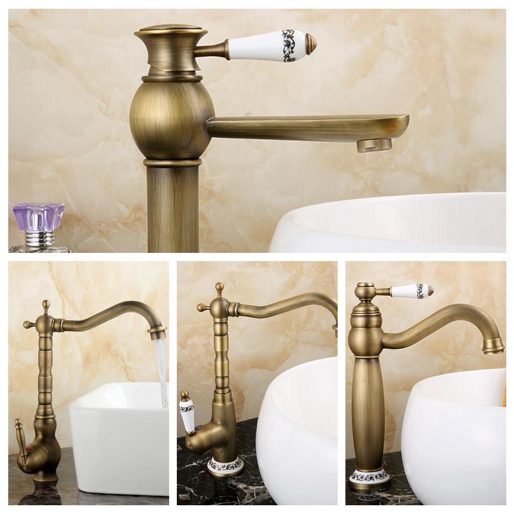 Antique copper faucet rustic bathroom sink tap antique brass kitchen  faucets torneiras para pia de banheiro. Snake Bathroom Sink Promotion Shop for Promotional Snake Bathroom