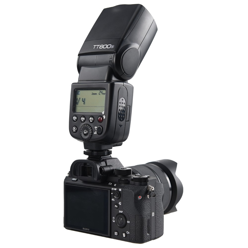 Godox TT600S Flash Speedlite for Sony Multi Interface MI Shoe Cameras A7 A7S A7R A7 II A6300 etc godox tt600s flash speedlite for sony multi interface mi shoe cameras a7 a7s a7r a7 ii a6300 etc