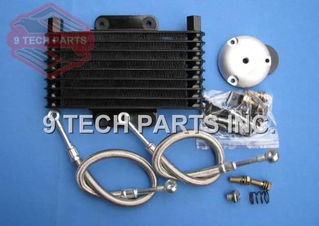 Radiador de aceite para moto 150cc