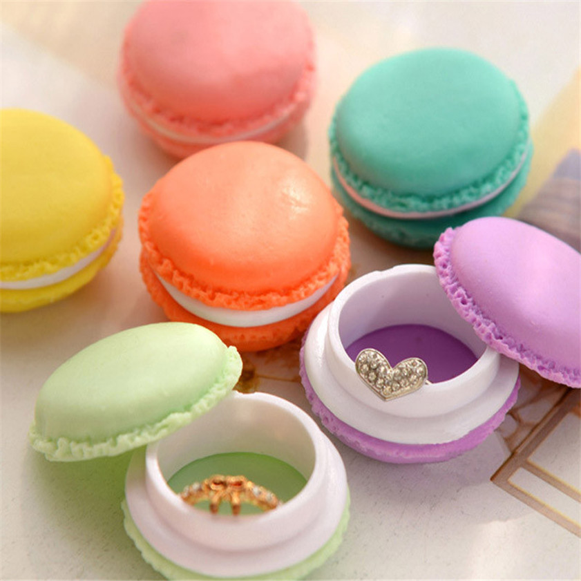 Good Quality 6 PCS Mini Earphone SD Card Macarons Bag Storage Box Case Carrying Pouch