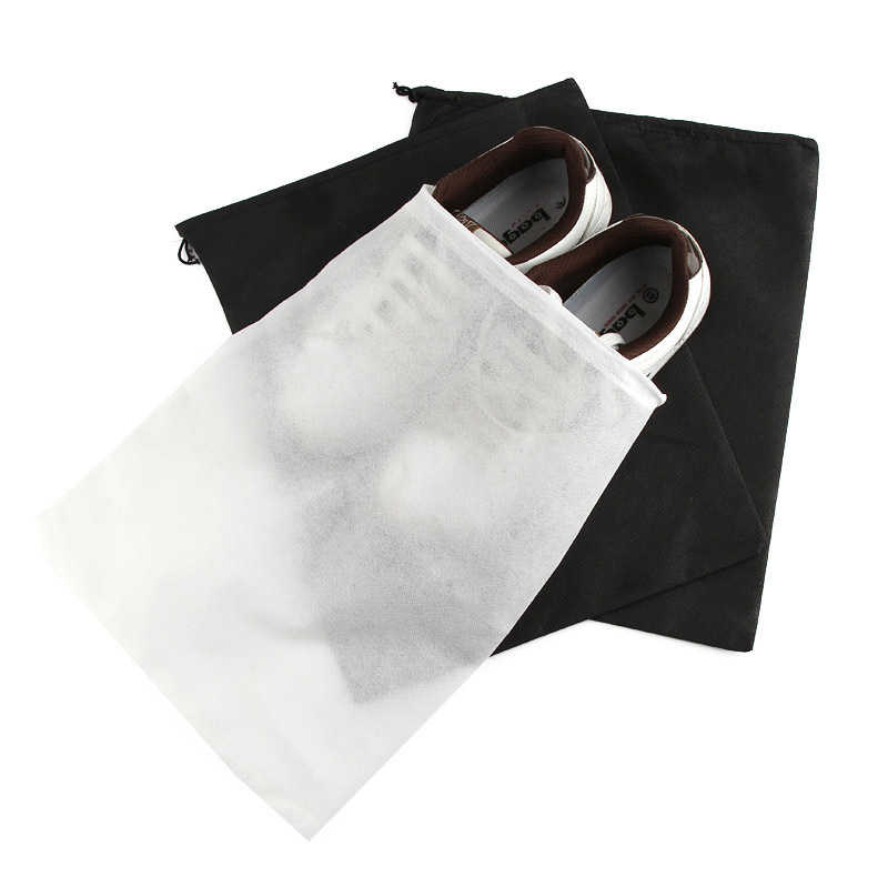5 Pcs/set  Non-Woven Shoes Storage Bag Travel Drawstring Dust Bundle Pocket Clothes Pants Out Door Finishing Packaging