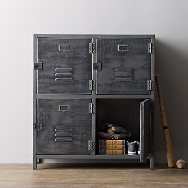 loft armario loft estilo industrial de hierro forjado