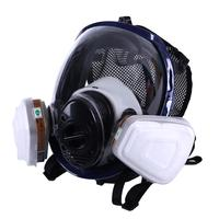Facepiece Respirator Kits 6800 Full Face Mask For Painting Spraying Gas Pesticide Chemical Fire Protection 3M filter cotton