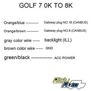 Image 5 - Gebruik Voor Vw Golf 7 MK7 Vii Voor En Achter 8K Ops Parking Pilot 5Q0 919 294 K Upgrade kit 5Q0919294K