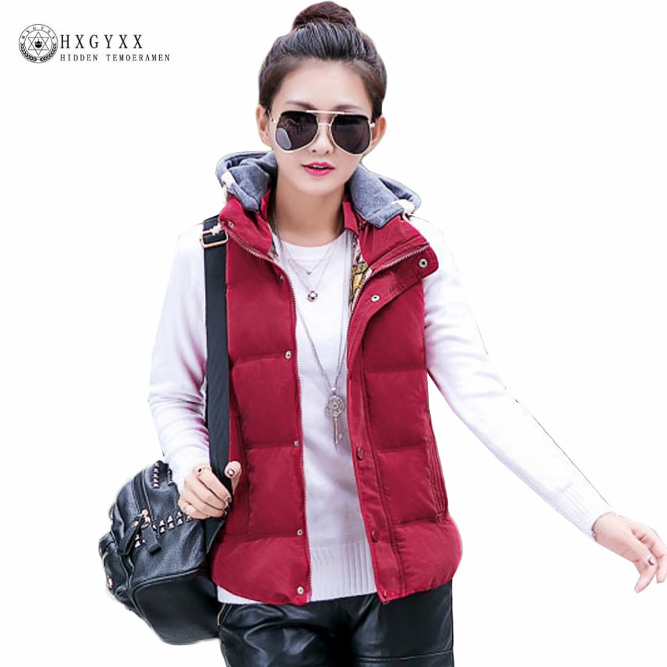Popular Fashion Hooded Winter Vest Women-Buy Cheap Fashion Hooded ...
