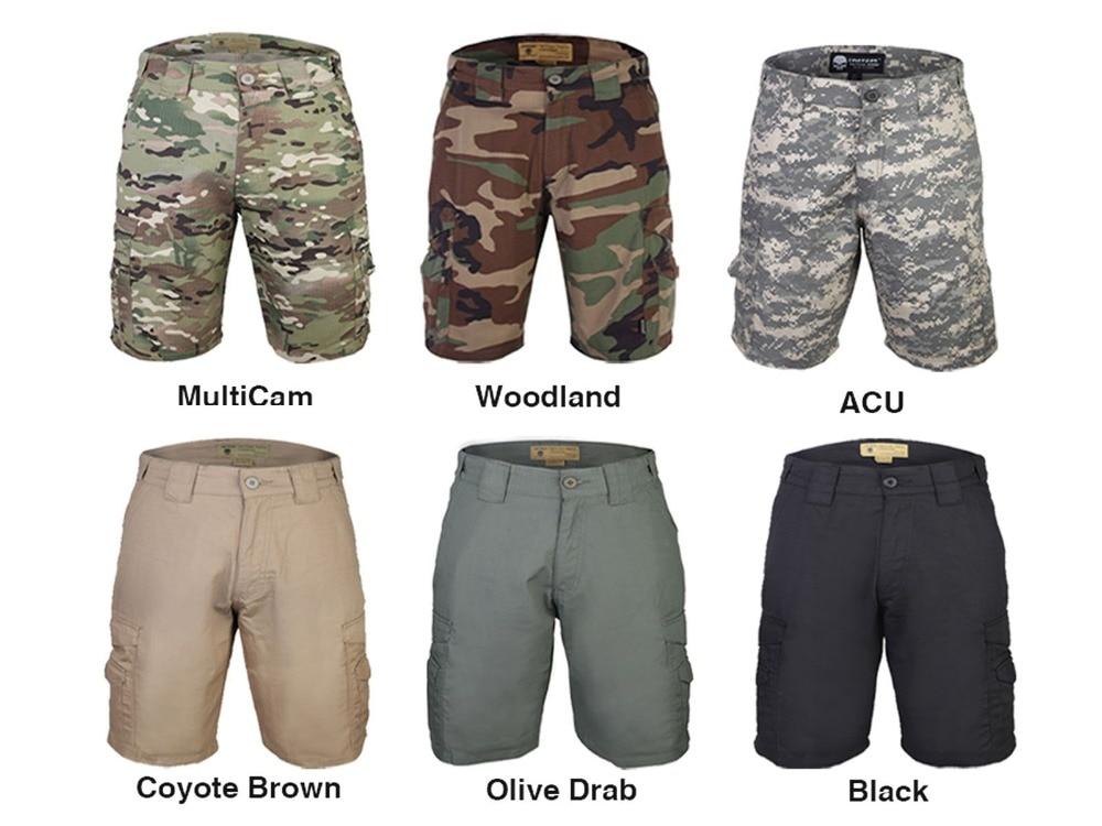 Emersongear Allwetteraußen Tactical Shorts Hosen Camoflage Emerson Airsoft Military Camo Wargame Phantasie Farben Sportbekleidung Jagdhosen