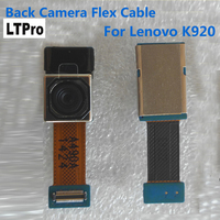 100 Original Big Back Rear Camera Flex Cable For Lenovo K920 Repair Replacement Parts Free Shipping