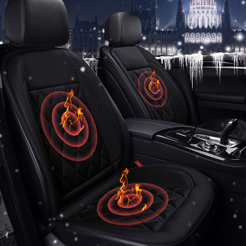 easy install not moves 12v electric heated car seat cushions winter heating keep warm non slide seat cover quality guarantee 2017 brands new 12v electric car heated seat covers universal winter car seat cushion heating pads keep warm single cushions