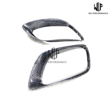 Free shipping E71 Carbon Fiber Exhaust Tail Hood Car Styling For BMW X6 E71 Car Body Kit 2008-2014 image