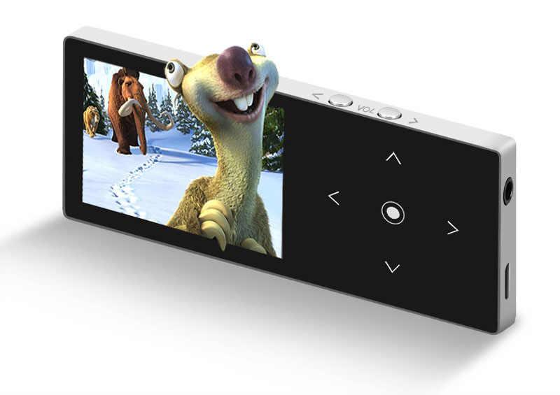 Bluetooth mp3 плеер Сенсорный экран Бенджи K8 ультра тонкий 8 ГБ/16 ГБ плеера 1,8 дюймов Цвет Экран без потерь HiFi Звук с FM