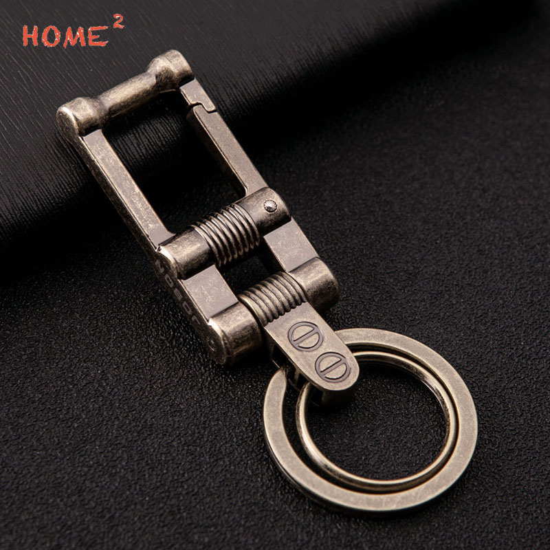 Retro Car Keychain Creative Metal Auto Pendant Keyring Business Gifts for Mazda Subaru BMW BENZ Jeep Jaguar Hyundai Honda Lexus