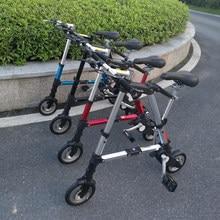 Venda quente 10 Polegada 10 10 bicicleta dobrável bicicleta mini ultra-leve pequena bicicleta mtb preto/branco/vermelho/azul dobrar bicicletas