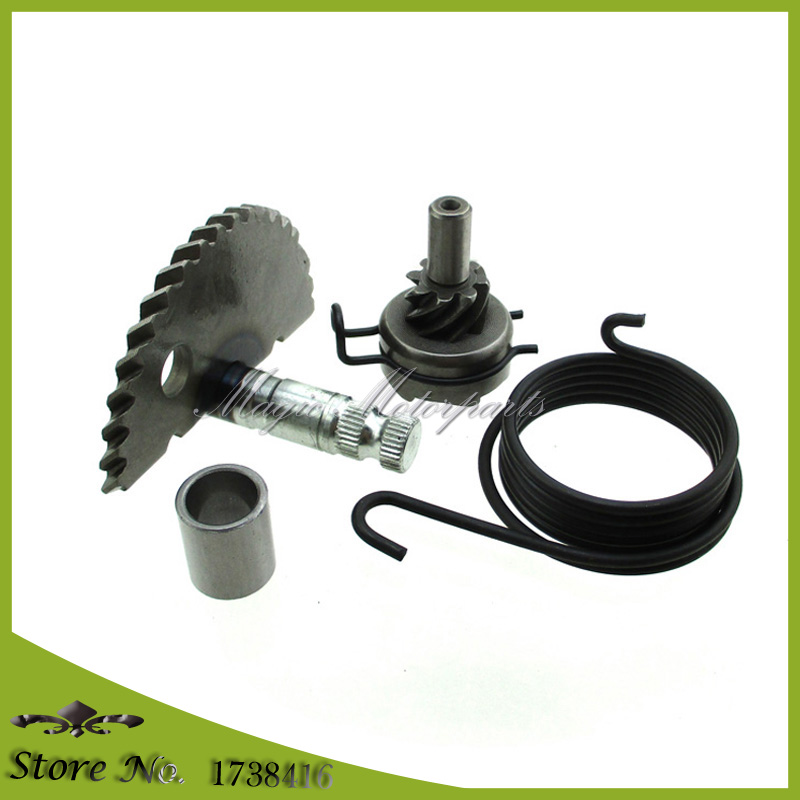 GY6 49cc 50cc 80cc Kick Starter Start Shaft Idle Gear Spring for Scooter Moped ATV Dirt Bike 139QMB Engine