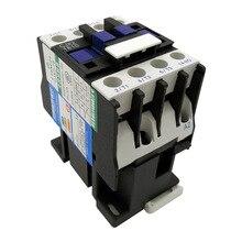 AC 220V контактор CJX2-1810 CJX2-1801 24VAC 1 фаза 380VAC 3 фазы