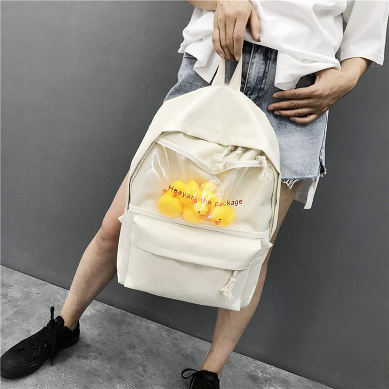 7dc360c1aadf US $14.48 30% OFF|Women Kanken Backpack Cartoon Printed Casual Bag Canvas  Girl Women Laptop School Backpack for College Student Travel Bag Mochila-in  ...