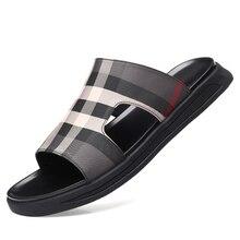 Men Shoes Flat Summer Beach Slippers Fashion Outdoor Unisex Flip Flop Casual Couple Sandal Brand DA0160