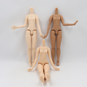 Joint Body 21cm for 30cm 1/6 Blyth icy BJD with small breast white natural dark skin suitable for DIY toy gift(China)