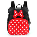 Baby Girls Backpack Lovely Cartoon Backpack Leather Kindergarten School Bags Anime Backpacks 2-6 Children Book Bag BB62