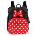 Baby Girls Backpack Lovely Cartoon Backpack Leather Kindergarten School Bags Anime Backpacks 2-6 Children Book Bag BB62