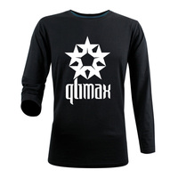 Qlimax Rock And Roll Band T Shirt Men Casual Pure Cotton Designer Custom Printed New Autumn