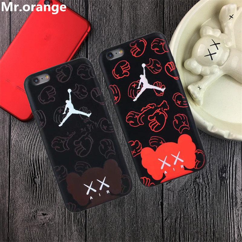 Mr.orange New Jordan x Kaws Luminous Effect case For