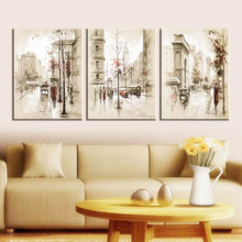 Diamond Embroidery Painting Triptych European Style Home Decoration Full Mosaic Needlework