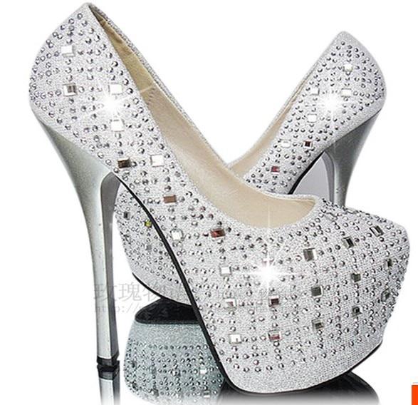 96c634f30d2 2014 platform high heeled shoes ultra high heels 16cm black sexy ...
