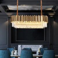 Nordic lâmpada pingente de cristal moderna ferro luminárias cozinha jantar pingente luz restaurante quarto sala estar lâmpadas hanglampen