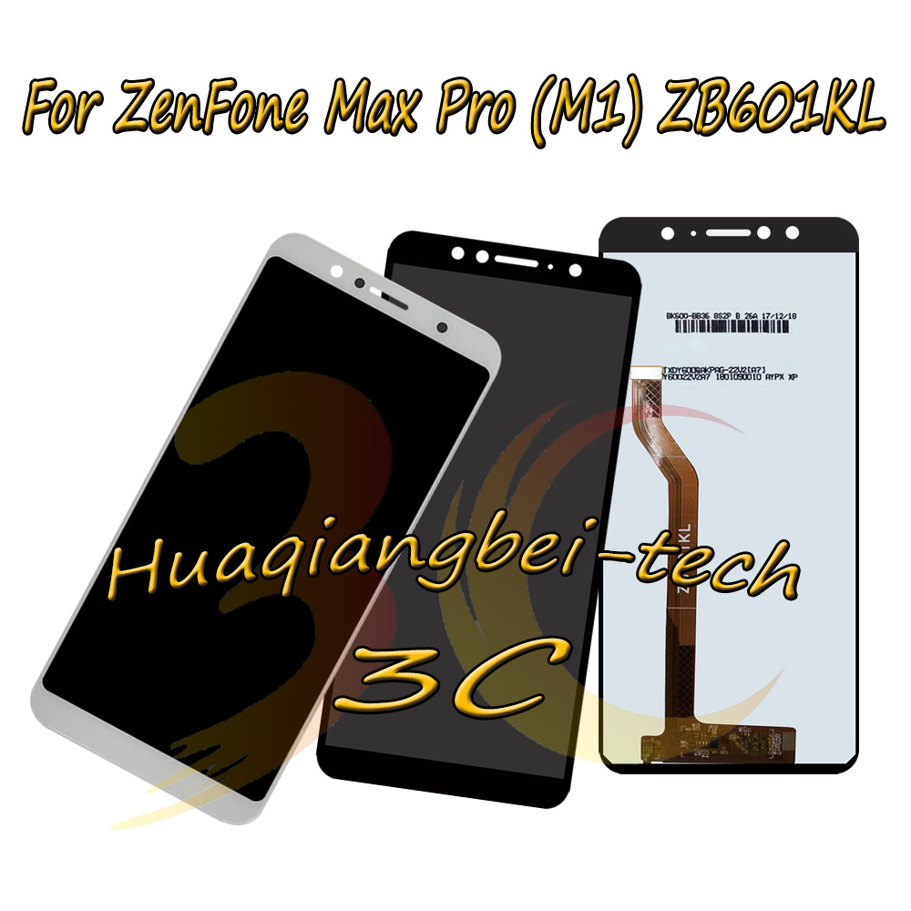 5.99'' New For Asus ZenFone Max Pro ( M1 ) ZB601KL / ZB602KL Full LCD DIsplay + Touch Screen Digitizer Assembly 100% Tested