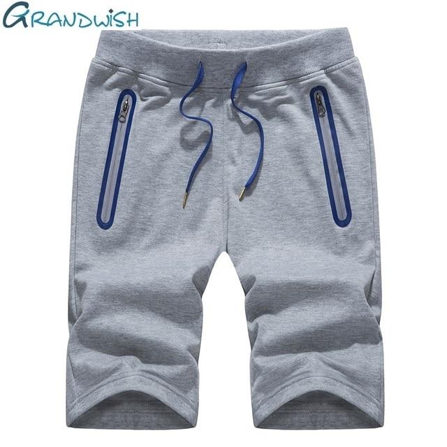 dad8f98d66 Grandwish Beach Shorts Men Plus Size 4XL Summer Men's Casual Shorts Elastic  Waist Mens Shorts Fitness with Drawstring ,DA547