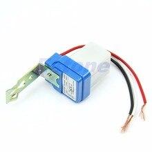 Automatic Auto On Day Off Street Light Switch 10A Night Control Sensor AC 220V