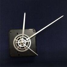 Бесшумный механизм настенных часов, Короткая ось, кварцевые часы, металлический указатель, бесшумная плита, выделенная резьба, ось 12 мм, вал с крюком