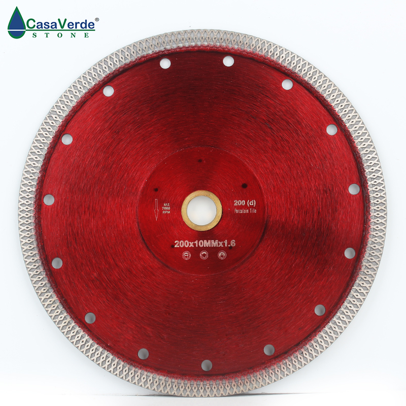 Free Shipping DC-SXSB06 8 Inch Diamond Saw Blade 200mm For Porcelain And Ceramic Tile Cutting
