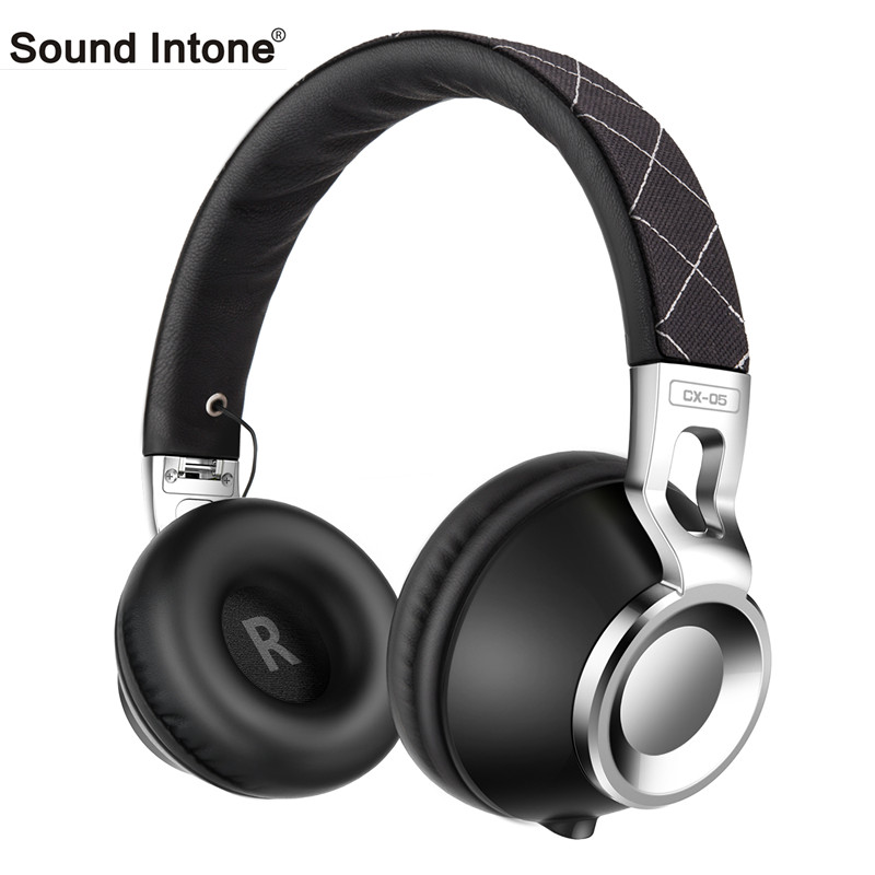 Sound Intone CX-05 3.5 mm jack Wired Headphones with Cable-Detachable Headphone Stereo HD HiFi Headsets with Mic for Iphone PC sound intone c18 adjustable over ear headpones wired hifi sound stereo headsets with microphone for phone music computer gaming