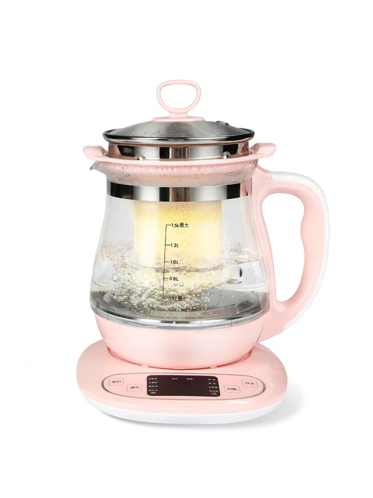 NEW Full-automatic health pot thickened glass multi-functional birds nest kettle electric water tea ketNEW Full-automatic health pot thickened glass multi-functional birds nest kettle electric water tea ket