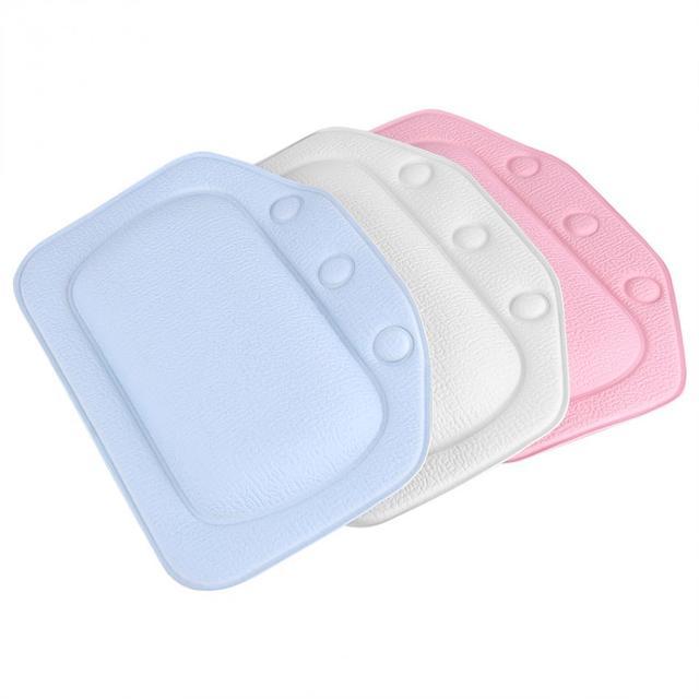 US 47 OFF Buy 3 Colors Soft Foam Padded Spa Bath Pillow Tub Headrest Head Neck Back Cushion Bathroom From Reliable Spa Bath