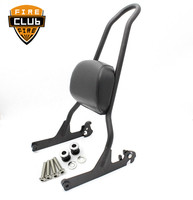 For Harley Fatboy LO FLSTF Softail FXST FLST CVO Luggage Rack Sissy Bar Passenge Passenger Sissy Bar Backrest Pad Cushion