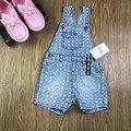 NUEVO 6-24 M Bebé Bahías Niñas Suspender Jeans Denim Shorts Jeans Soft Recién Nacido Niño cortocircuitos Del Bebé Monos Infantiles