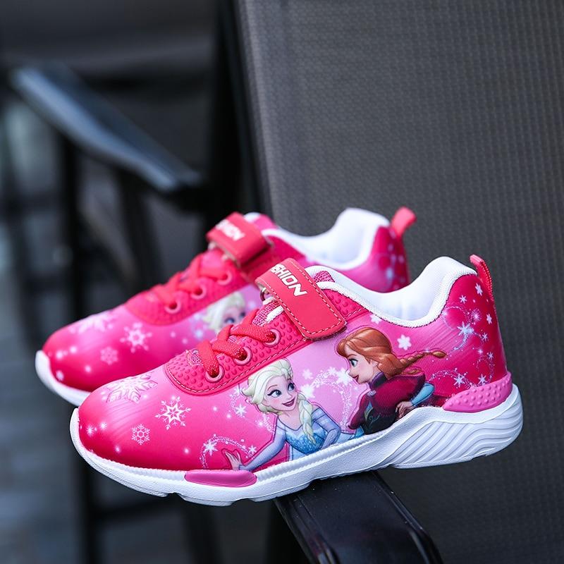2018 Весна Нові дитячі взуття Дівчата - Дитяче взуття