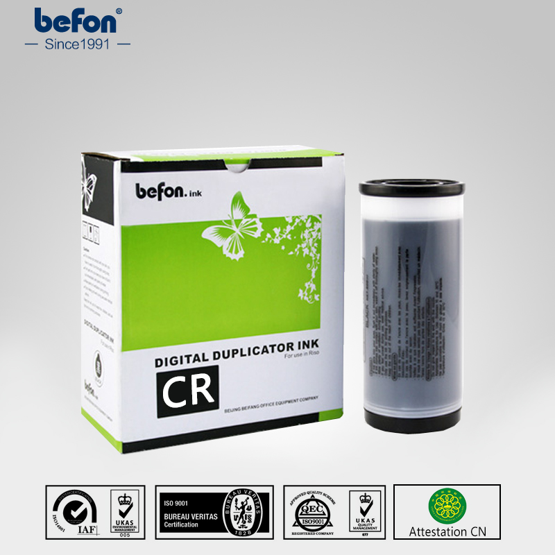 befon Duplicator Ink CR cr S-2487 ink for use in CR-1610 1630