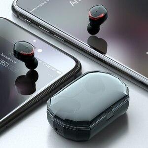 Image 3 - بلوتوث 5.0 TWS R10 سماعة 5.0 سماعات لاسلكية مع هيئة التصنيع العسكري للماء ل هاتف ذكي