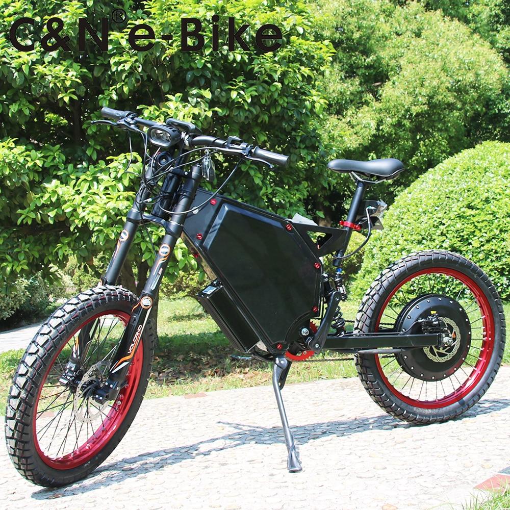 2018 Anni Più Recenti 72 v 8000 w Enuro ebike Della Bicicletta Elettrica Mountain Bike